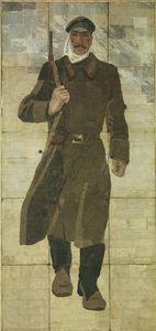 Red herring.Florentine mosaic