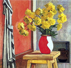 Still Life. Yellow flowers