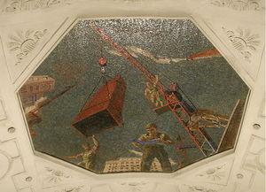 Mosaic Art for metro station ''Novokuznetskaya''