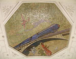 Mosaic Art for metro station ''Novokuznetskaya'' 5