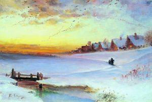 Winter Landscape (Thaw)