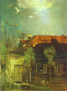 A Provincial Cottage. Spring