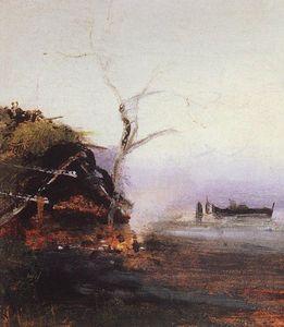 Bonfire of the river