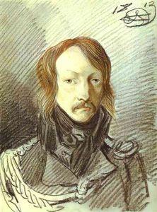 Portrait of A. P. Lanskoy