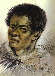 Portrait of a Negro, Orlovski's Servant