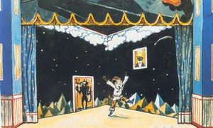 Petrushka's Chamber. Set Design