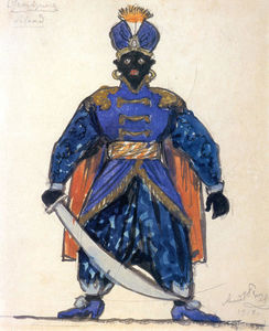 Blackamoor. Costume design