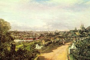View of Moscow from the house of G.I. Chludov