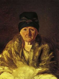 Old Nurse in Shlychkov