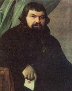 Portrait of the Merchant Obraztsov
