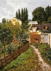 Garden Path in Louveciennes (Chemin de l Etarch)