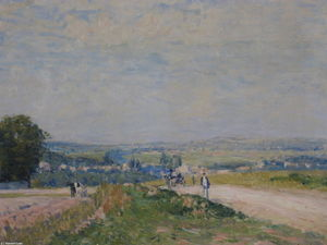 The Road to Louveciennes Montbuisson