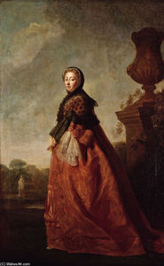 Portrait of Augusta of Saxe Gotha, Princess of Wales