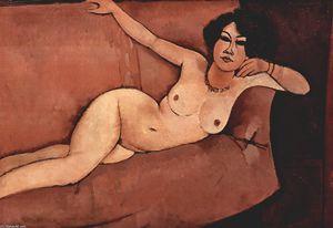 Nude on sofa (Almaisa)
