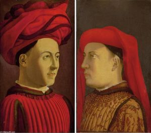 Portraits of two members of Medici family