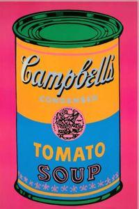 Campbells Soup Pink