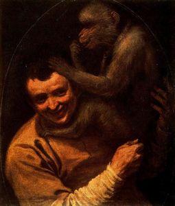 Man with Monkey