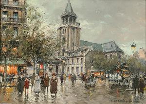 Eglise de Saint Germain des pres