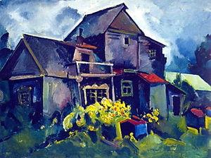 Country House. Village Zyuzino