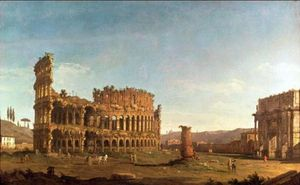 Colosseum and Arch of Constantine (Rome)