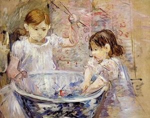Children at the Basin
