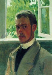 Self Portrait near the Window