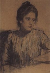 Portrait of Y.E. Proshinskaya