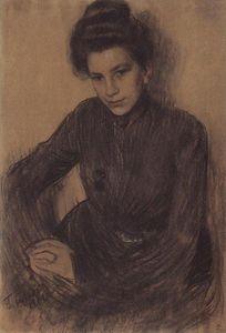 Portrait of Z. Proshinskaya