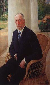 Portrait of Baron N.K.fon Mecca