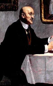 Portrait of the Artist Igor Grabar