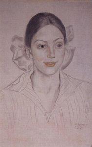 Portrait of N.A. Kuznetsova