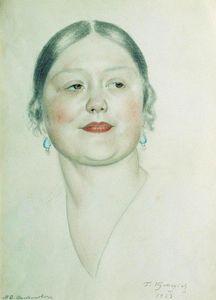 Portrait of M.D. Shostakovich