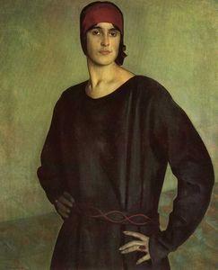Portrait of the Artist Tatiana Chizhova