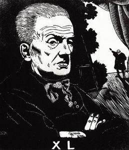 Portrait of Yuri Korvin-Krukovsky