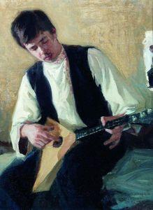 Portrait of I.S. Kulikov