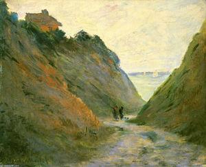 The Sunken Road in the Cliff at Varangeville