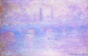 Waterloo Bridge, Fog