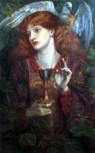 The Damsel of the Sanct Grael or Holy Grail