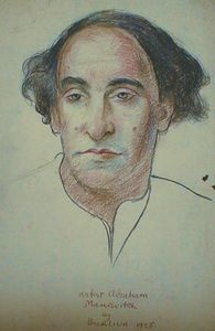 Artist Abraham Manievitch
