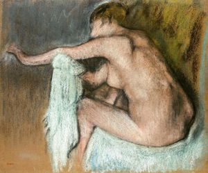 Woman Drying her Arm