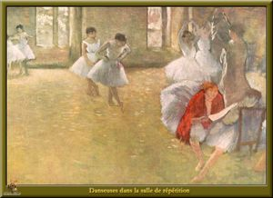 Dancers in the Rehearsal Hall