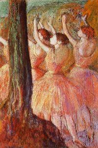 rosa bailarines
