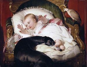 Victoria, Princess Royal, with Eos