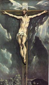 Christ on a cross