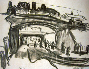 Two Railway Bridges in Dresden