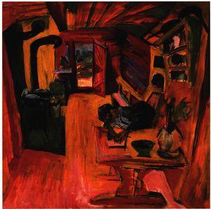 Kitchen in an Alpine Hut