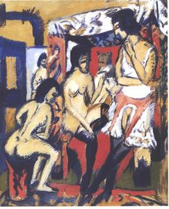 Nudes in Atelier