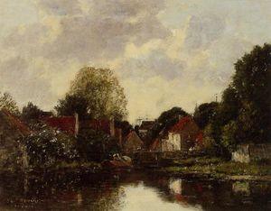 Canel near Dordrecht