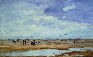 Deauville, the Beach, Low Tide