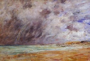Le Havre. Stormy Skies over the Estuary.